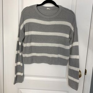 GARAGE Knitted Striped Sweater